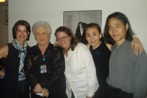 Paula Lawence, Beate Gordon, Bonnie Stein, Eiko and Koma 2010 photo by John Gillespie